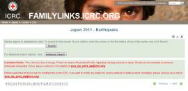 Red Cross Family Links