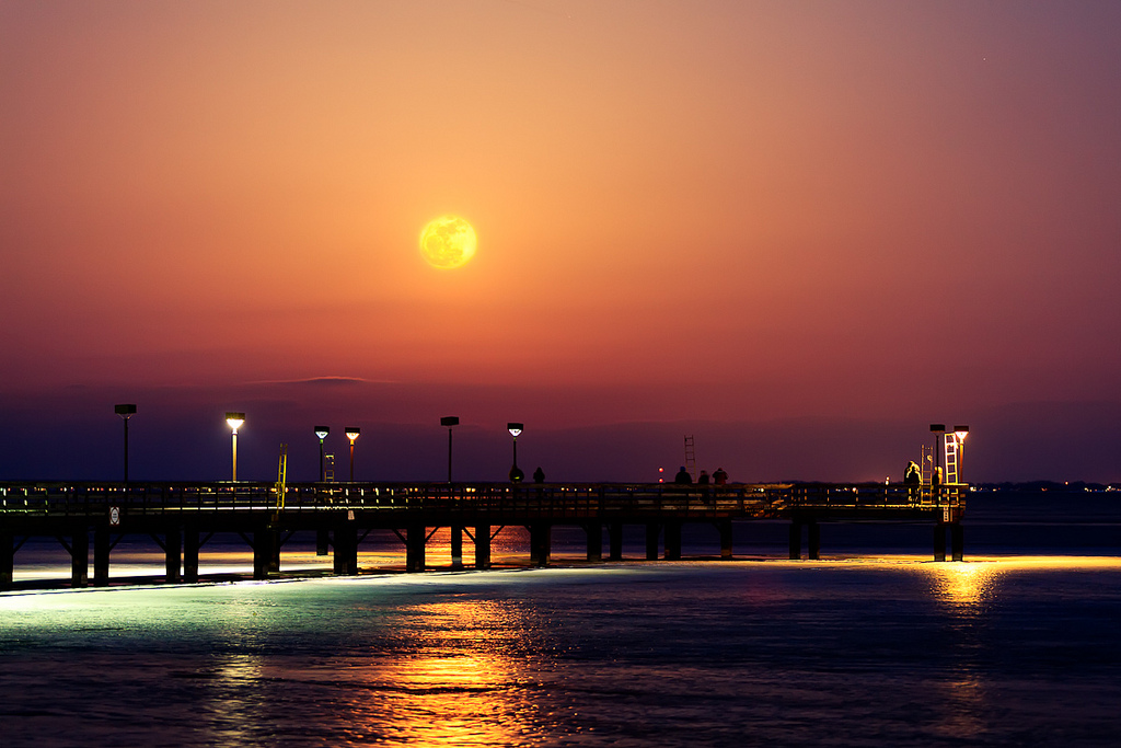 Super moon - unifiedphoto