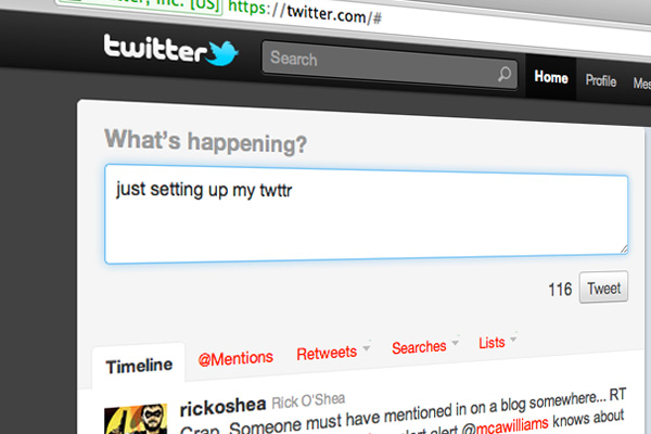 just setting up my twttr