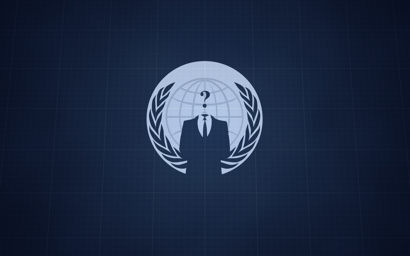 Anonymous hacker group propaganda