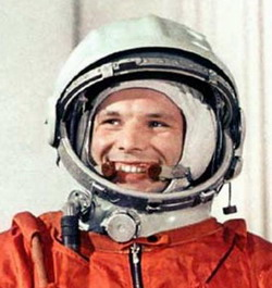 Yury Gagarin via Russian Federal Space Agency