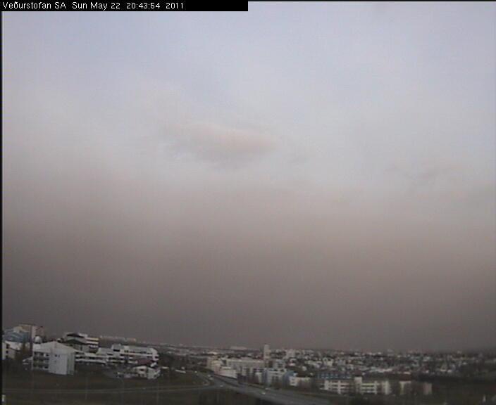 Reykjavík at 8:45 pm