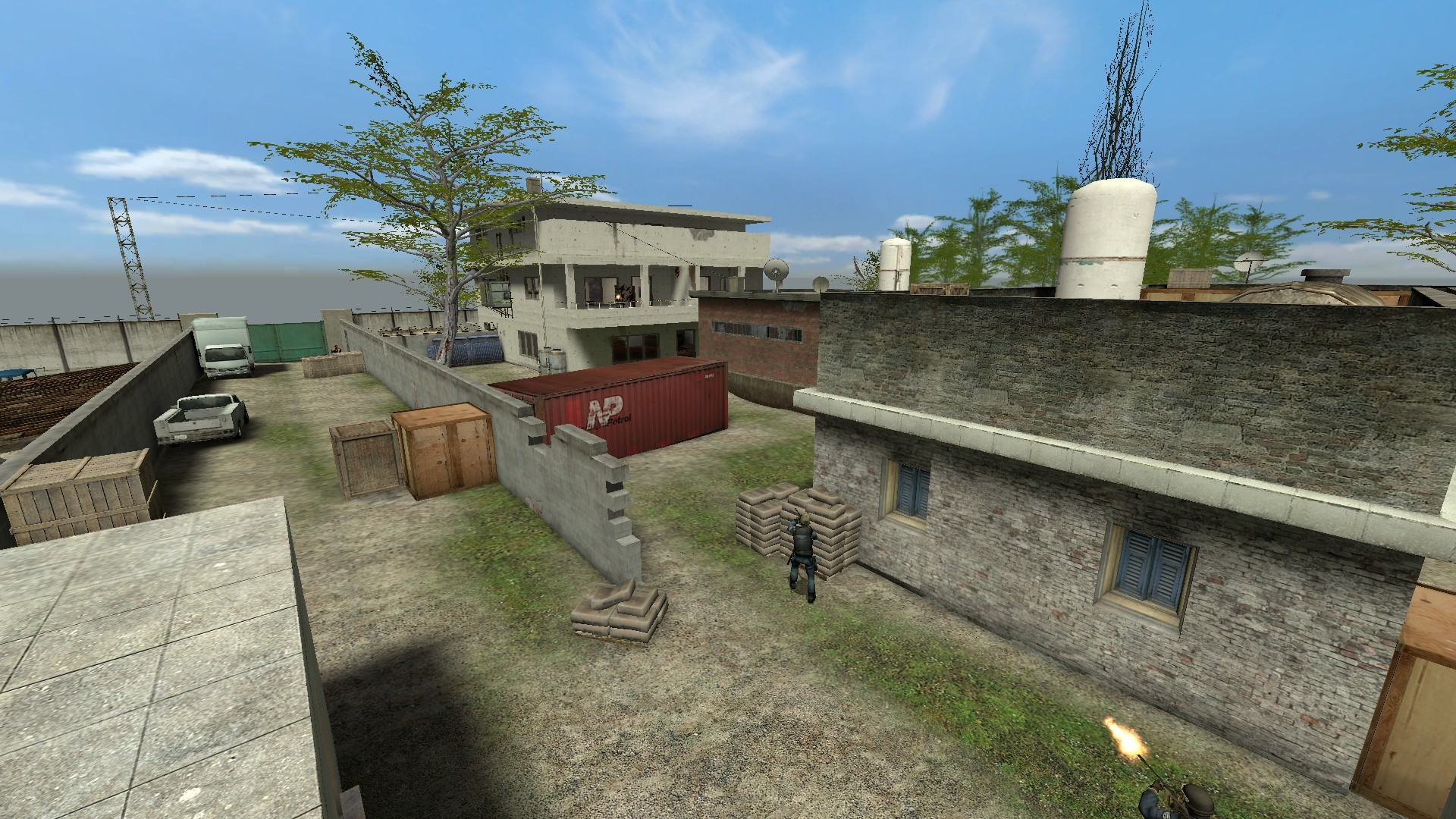 Counter Strike Abbottābad level via Gamebanana