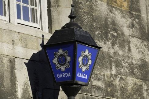 Garda station lamp. Photo by infomatique via Flickr