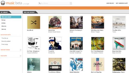 Google Music Beta App