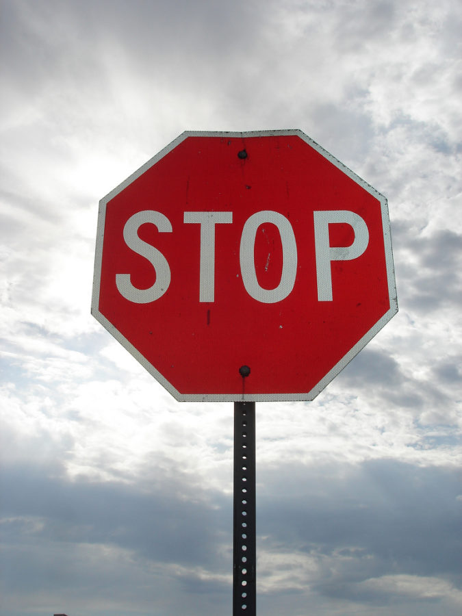 Stop sign. Credit: Kt Ann via Flickr