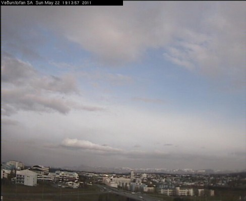 Reykjavík at 7:15 pm