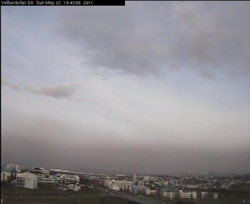 Reykjavík at 7:45 pm