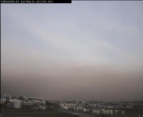 Reykjavík at 8:15 pm