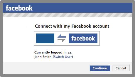 Facebook connection