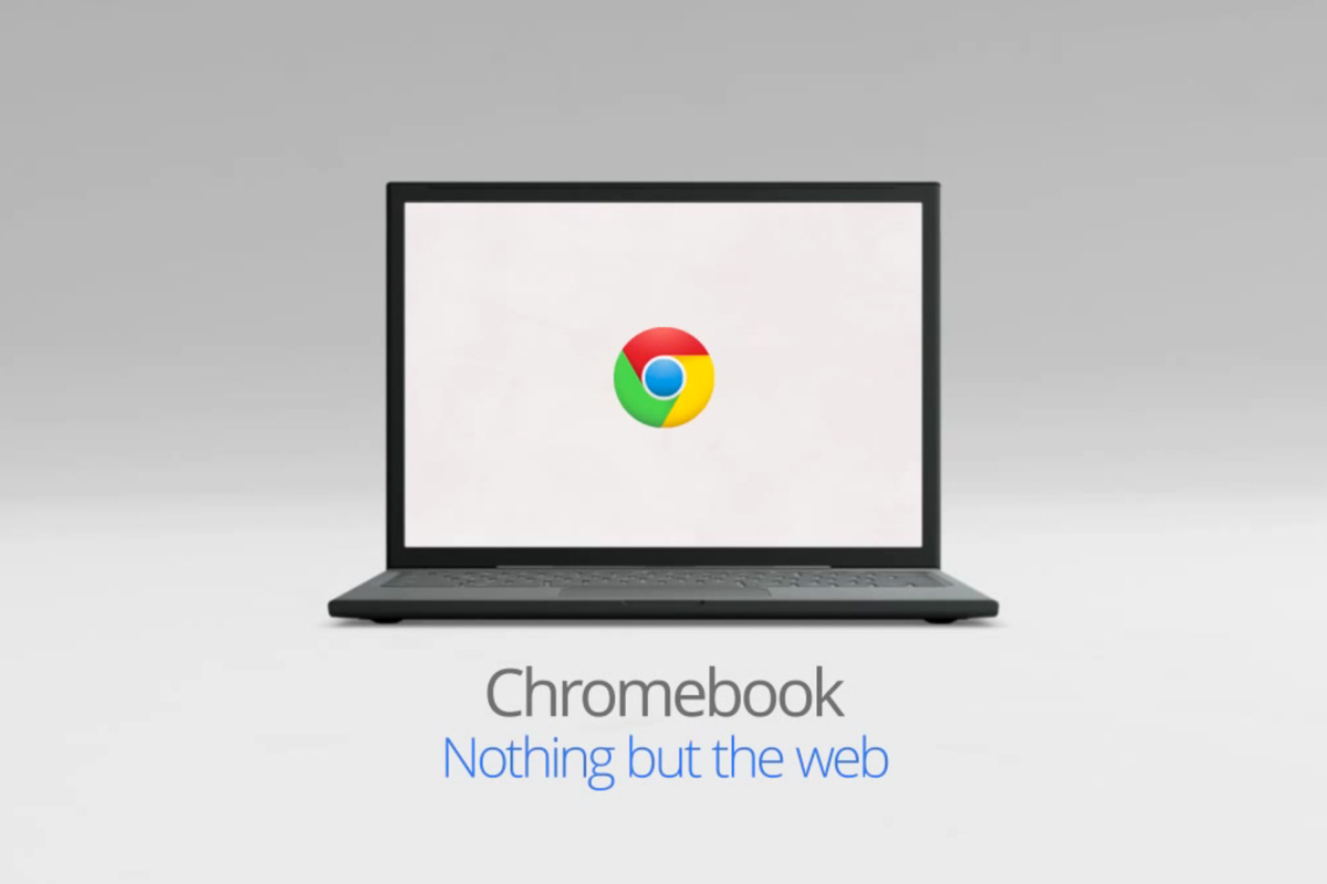 Chrome OS runs web-based applications within a modified Chrome browser