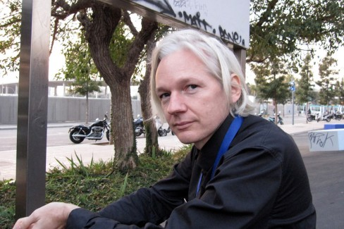 Founder and editor of WikiLeaks Julian Assange
