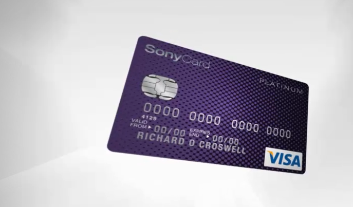Sony Credit Card