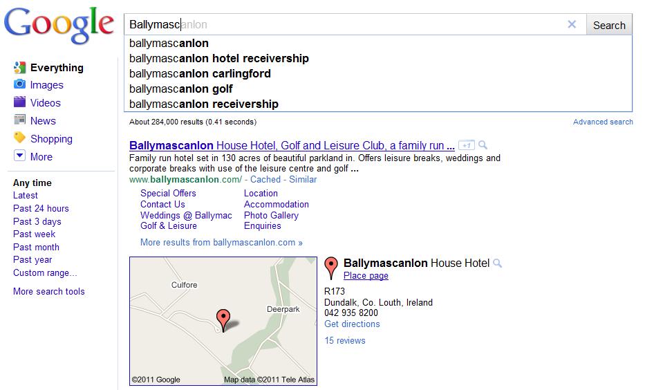 Ballymascanlon Google Search