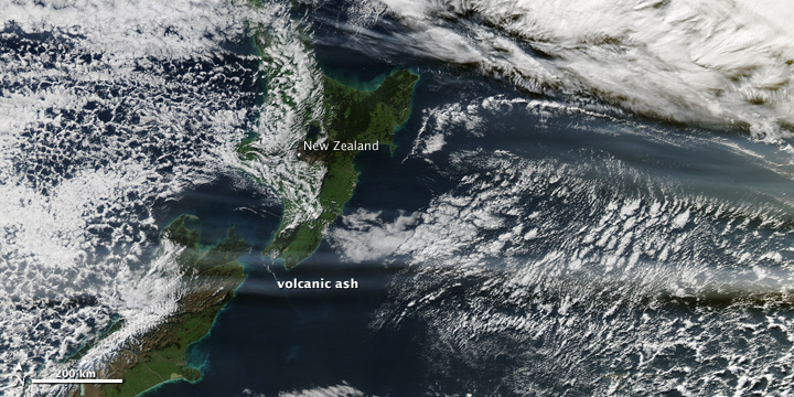 Credit: NASA MODIS Rapid Response
