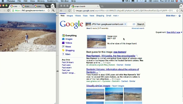 Google Search by Image for desktop