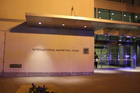 The IMF building in Washington DC