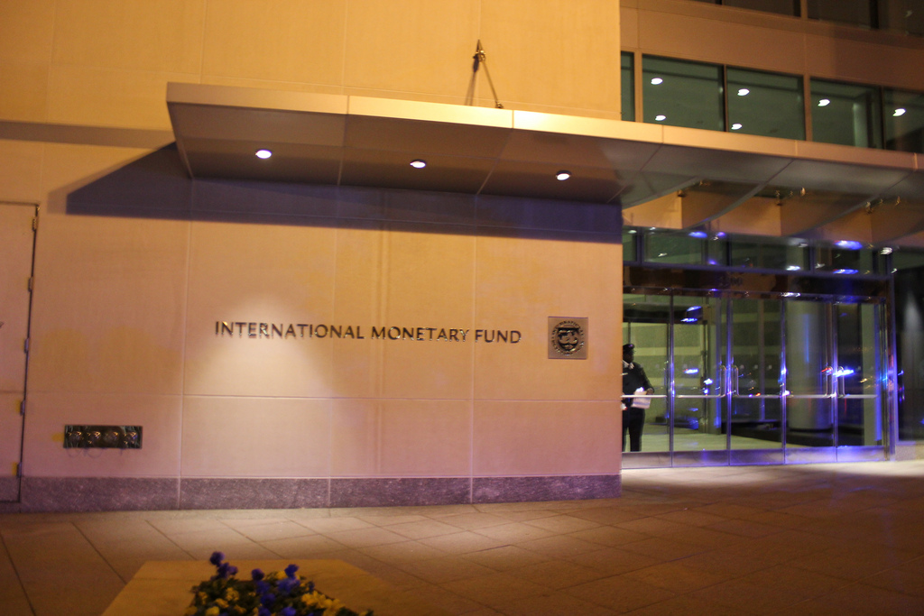 The IMF building in Washington DC