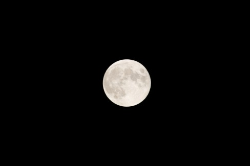 The full moon after the lunar eclipse