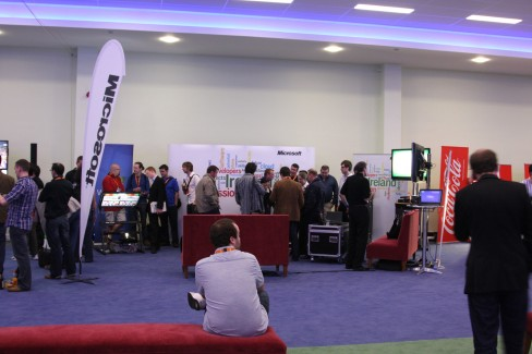Microsoft stand at #dws6