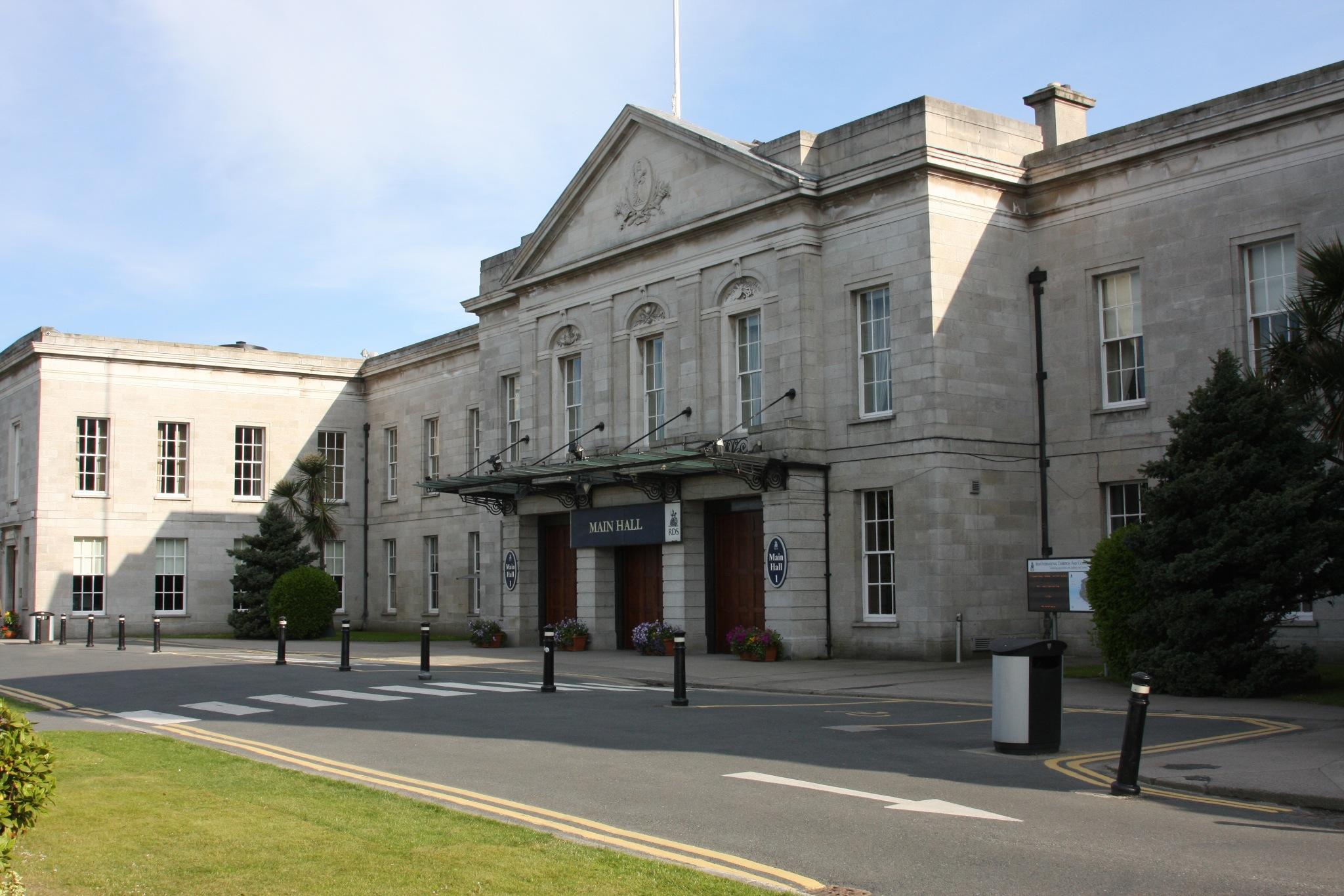 The Main Hall at the RDS, Dublin