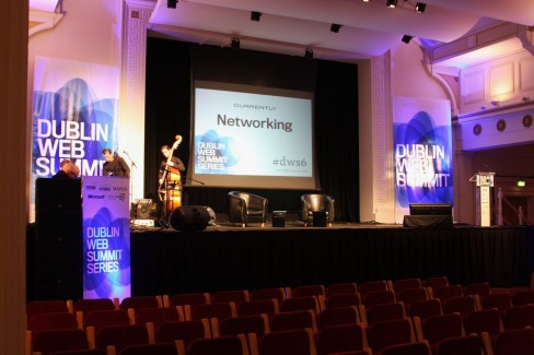 The #dws6 venue before talks began