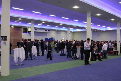 Networking at #dws6