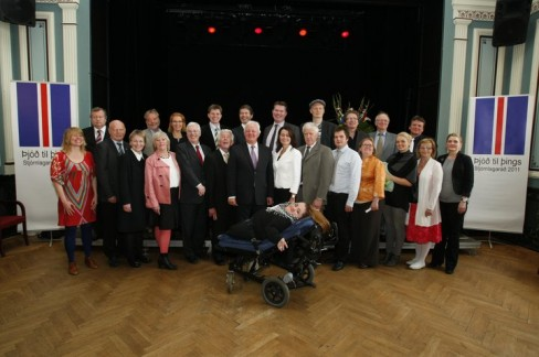 The 25 member Icelandic Constitutional Council