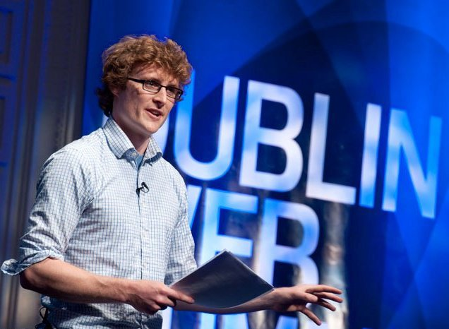 Dublin Web Summit founder Paddy Cosgrave