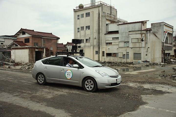 Google Street View in tsunami-struck Japan
