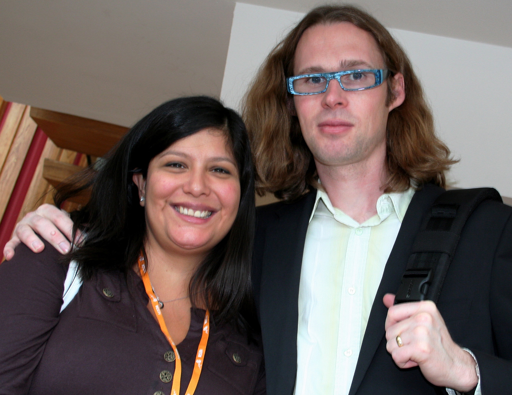 Bebo founder Michael Birch with his wife Xochi