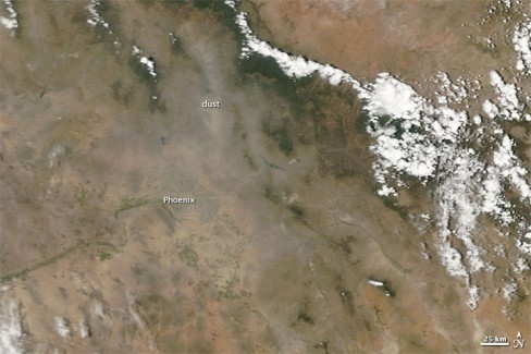 NASA image of Phoenix, AZ