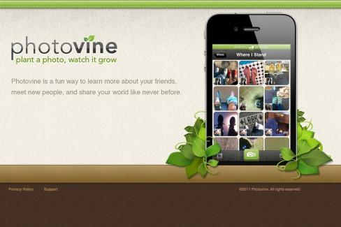 Photovine: Plant a photo, watch it grow