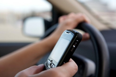 Texting while driving greatly increases the risk of crashing