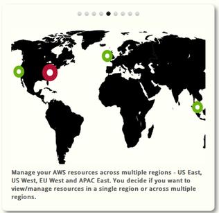 Amazon AWS locations