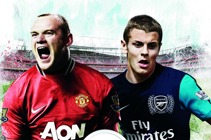 Wayne Rooney and Jack Wilshere will feature on the cover of FIFA 12 in Ireland and the UK