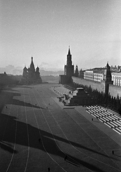 Red Square Moscow, 10 September 1941