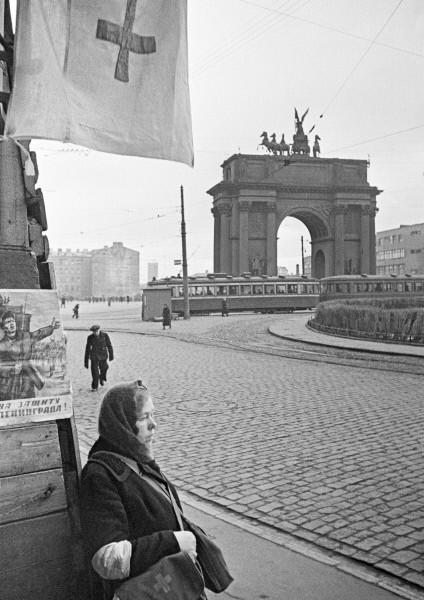 First Aid Post at Leningrad's Narva Gates