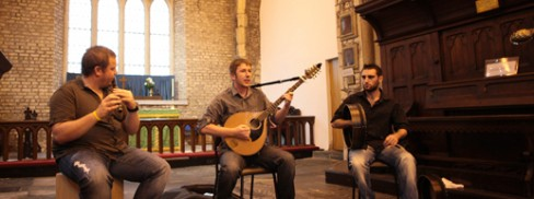 Traditional music in St. Audeons for National Heritage Week 2011