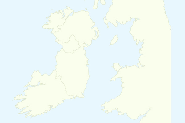 Connaught is clearly missing from this map of Ireland in Google Analytics