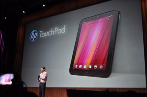 The HP TouchPad is being discontinued only one month after arriving in Ireland