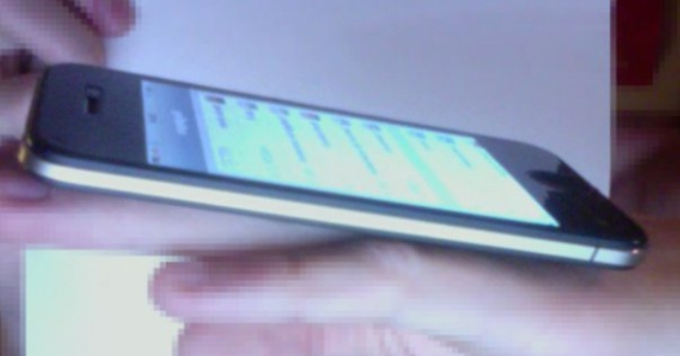 Possibly fake image of the iPhone 5
