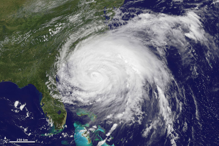Hurricane Irene Credit: NASA Earth Observatory