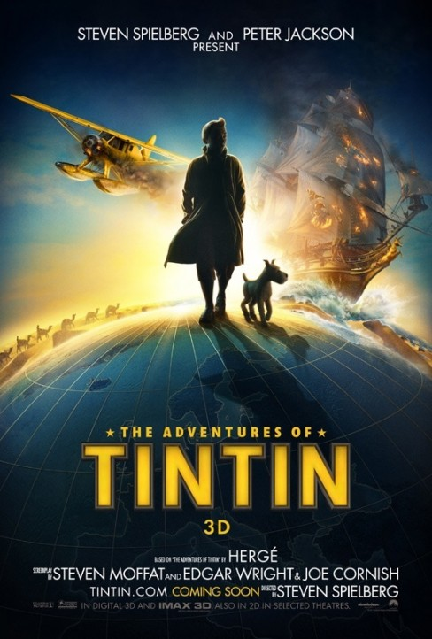 The Adventures of TinTin Film Poster