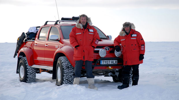 Polar Special is one of the Top Gear episodes available to rent on Facebook