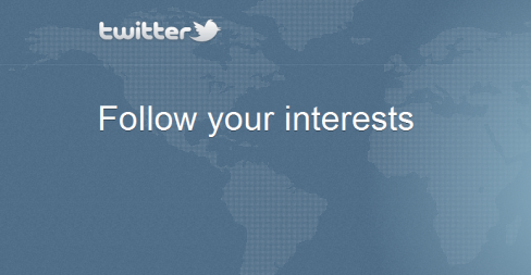 Twitter Follow Your Interests