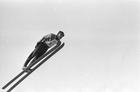 Ski jumping at the World Ski Championships in Oslo, 1966