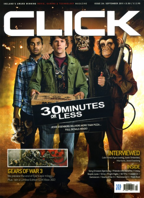 Click Magazine Cover