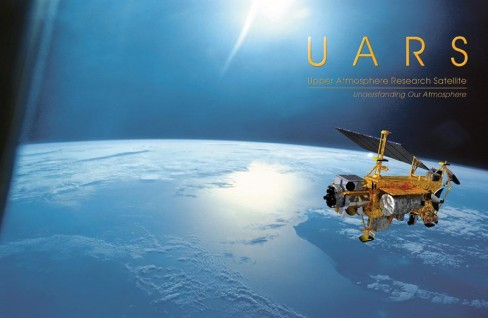 NASA brochure cover for the Upper Atmosphere Research Satellite