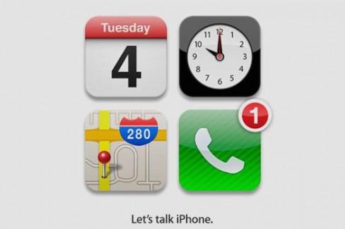 Apple's simple iPhone event invite